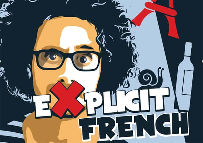 Comedy in English in Paris explicit-french